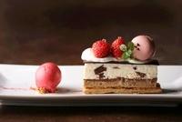 いちごのチョコレートミルフィーユ