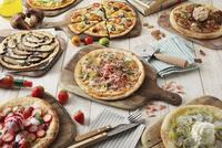 春のピザ集合