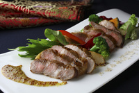 中華風イベリコ豚のステーキ