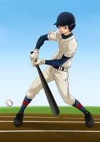 バットを振る少年 10456000019| 写真素材・ストックフォト・画像・イラスト素材|アマナイメージズ