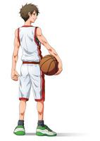 バスケ少年 10456000077| 写真素材・ストックフォト・画像・イラスト素材|アマナイメージズ