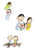 男性の一生 出産と育児と老後