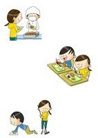 小学校生活 給食と掃除