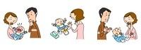 赤ちゃんの医療 泣く 下痢 ひきつけ 10464000018| 写真素材・ストックフォト・画像・イラスト素材|アマナイメージズ