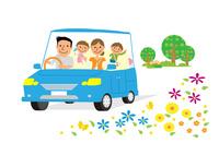 家族のドライブ