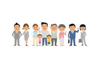 三世代家族と営業マン