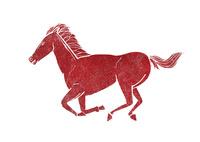 干支 馬 10467000665| 写真素材・ストックフォト・画像・イラスト素材|アマナイメージズ