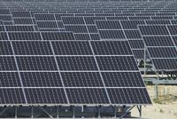 北新潟太陽光発電所,太陽電池パネル