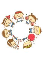 運動会の子供たち 10468000325| 写真素材・ストックフォト・画像・イラスト素材|アマナイメージズ