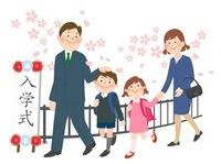 親子と入学式