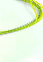 壁にそって流れる細い黄・緑色のラインの集まり 10471000124| 写真素材・ストックフォト・画像・イラスト素材|アマナイメージズ