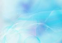 幻想的な水色の光の流れ