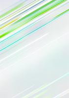 斜めに横切る緑のライン