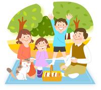 親子でピクニック