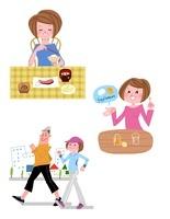 健康生活 10473000003| 写真素材・ストックフォト・画像・イラスト素材|アマナイメージズ