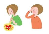 女性の病気 動悸 発熱