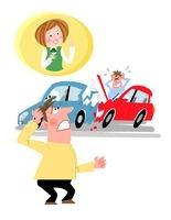 自動車保険 10473000018| 写真素材・ストックフォト・画像・イラスト素材|アマナイメージズ