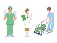 医師・女医・介護士 10473000047| 写真素材・ストックフォト・画像・イラスト素材|アマナイメージズ