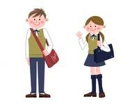 通学する中高生 10473000061| 写真素材・ストックフォト・画像・イラスト素材|アマナイメージズ