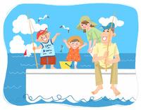 夏休みの思い出 海釣り