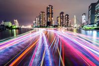 東京ウォーターフロントの夜景 10480001727  写真素材・ストックフォト・画像・イラスト素材 アマナイメージズ