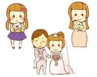 女性の人生 高校時代と結婚と出産 10483000019| 写真素材・ストックフォト・画像・イラスト素材|アマナイメージズ