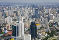 バイヨーク・タワーから見たバンコクの高層ビル街