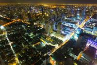 バイヨーク・タワーから見たバンコクの夜景