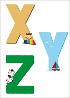 アルファベットXYZ