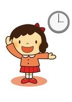 時計のお勉強 10490000028| 写真素材・ストックフォト・画像・イラスト素材|アマナイメージズ