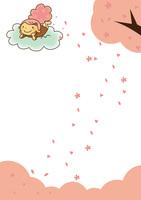 桜の子 10490000051| 写真素材・ストックフォト・画像・イラスト素材|アマナイメージズ