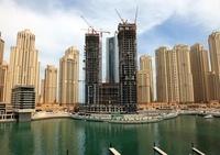 ドバイの超高層ビル(Bay Central Towers)