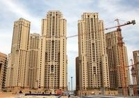 ドバイの超高層ビル(左:Shams 右:Amway)