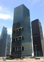 ドバイの超高層ビル(Swiss Tower)