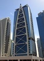 ドバイの超高層ビル(Indigo Icon Tower)