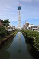 十間橋より望む東京スカイツリー