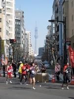 東京マラソン2011と東京スカイツリー