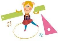 数学少女 10494000016| 写真素材・ストックフォト・画像・イラスト素材|アマナイメージズ