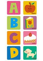 アルファベット ABCD
