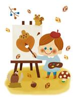 芸術の秋 10494000125| 写真素材・ストックフォト・画像・イラスト素材|アマナイメージズ