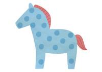 Horseブルー