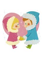 冬の恋人 10494000160| 写真素材・ストックフォト・画像・イラスト素材|アマナイメージズ