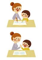お母さんとお勉強