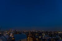 夜の明かり(練馬より新宿高層ビル群方向)