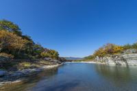 秋の長瀞 荒川上流