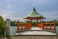 大濠公園(浮見堂の入口)