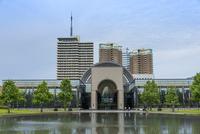 福岡市博物館(正面アップ)