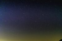 星野(北斗七星、おおぐま座メグレズ、フェクダ、メラク、北西の空)
