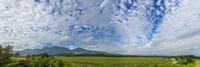 久住高原から九重連山 パノラマ