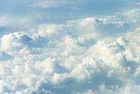 雲海 上空約1万メートルより